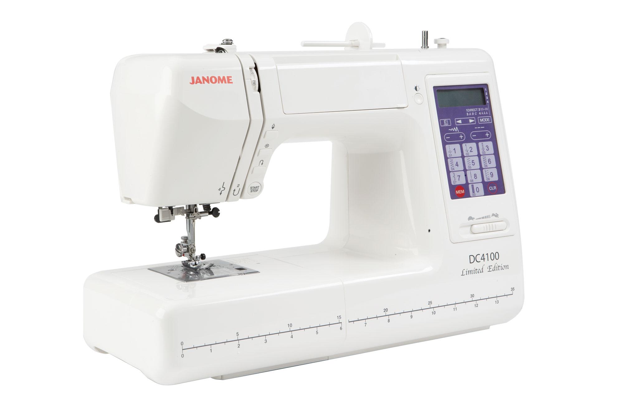 Швейная машина janome dc 4100